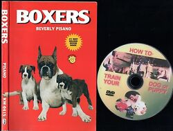 BOXERS Boxer Dog 224 page Owner Manual + FREE BONUS DVD Train Your Dog or Puppy