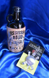 Mississippi Mud Black And Tan, Beer Bottle With A Brutul Black And Tan Spoon