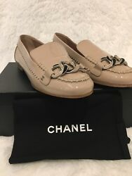 Mocassin Patent Loafer Neutral 35.5 36 36.5 37.5 And 39 875