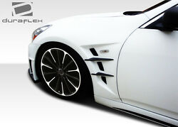 07-13 Fits Infiniti G Sedan G25 G35 G37 Duraflex W-1 fenders 2pc 108243