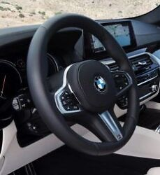 Bmw G30 G11 G12 5 And 7 Series G01 X3 18+ M Sport Leather Steering Wheel Automatic