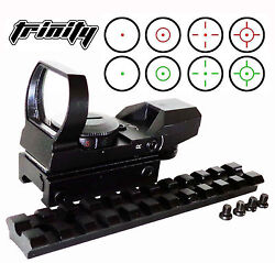 Trinity Tactical Red Green Dot Scope Sight Mount Fits Ruger 10/22 Hunting Target