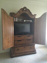 bedroom set armoire 2 bedside tables and bed frame