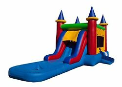 5 In 1 Bounce House Combo Unit/ Inflatable Bouncer / Bounce House