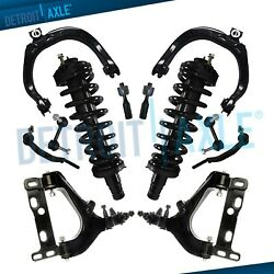 New 12pc Complete Front Suspension Kit for Chevrolet Trailblazer and GMC Envoy