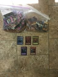 Yugioh Cards Lot Roughly 887 Cards All Different Types Of Cards Rare, Limited