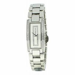 Raymond Weil Womenand039s Quartz Watch With Silver Dial Analogue Display And Silver S