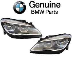 For BMW F06 F12 F13 Pair Set Left & Right Headlight Assies LED Adaptive Genuine