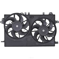 Dual Radiator and Condenser Fan Assembly Spectra CF29002 fits 99-09 Saab 9-5