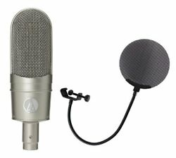 AUDIO-TECHNICA AT 4080 Ribbon microphone with metal pop filter