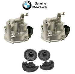 For Bmw M3 08-13 Throttle Actuator Set W/ Gear Repair Kit Genuine 13627838085