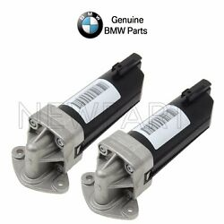 For Bmw E60 E63 M5 M6 Pair Set Of 2 Electric Engine Oil Pumps Oes 11417834496
