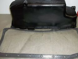 Used Pan Oil Chevy Small Block Aluminum With Casket Long Sump