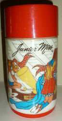 Junior Miss Plastic Thermos For Lunchbox