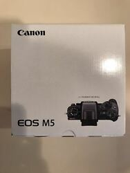NEW CANON EOS M5 24.2MP Mirrorless Camera With AF Control Touchscreen LCD*Offer