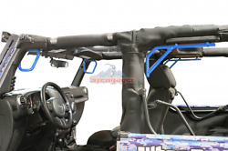 Steinjager Rigid Grab Handles Jeep Wrangler front & rear set Variety of colors
