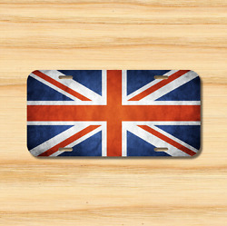 Uk Great Britain Flag License Plate Vehicle Auto Tag England Free Shipping New