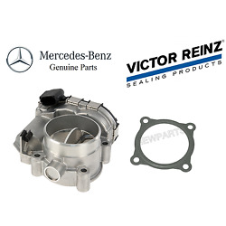 For Mercedes W203 C230 1.8l L4 03-05 Set Of Throttle Housing And Body Mount Gasket