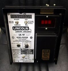 Lincoln Ln-9f Wire Feeder, Wire Drive, Flux Hopper And Control Cables - Unused