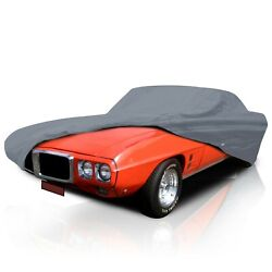 [csc]5 Layer Semi Custom Fit Waterproof Car Cover For Ford Pinto Coupe 1971-1975