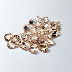 Natural Peach Morganite Pear Faceted Cut Calibrated Morganite Loose Gemstone