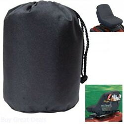 Seat Cover Lawn Mowers Garden Tractor Fits Multiple Brands Seats Black New
