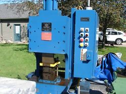 Hydraulic Press Manchester with tooling (crimper swager punch stamp shear)