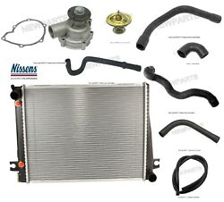 For Bmw E24 E28 Radiator Auto Trans And Water Pump W/ Hoses Cooling Kit