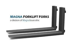 New Forklift Forks + 72 Long Class 3 + 12500 Capacity + Free Shipping + Magna