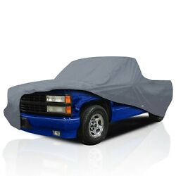 [csc] Waterproof Full Pickup Truck Cover For Chevrolet S-10 Gmc Sonoma 1994-2004