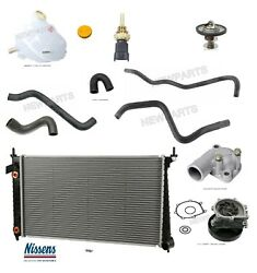 For Saab 9-5 Radiator And Water Pump Hoses Tank Thermostat 88. Sensor Coolant Kit
