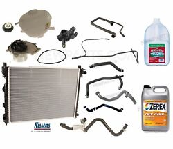 For Land Rover Freelander 02-05 Radiator W/ Parts And Antifreeze Cooling Kit