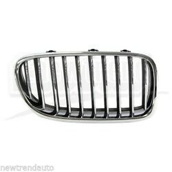 Frontright Passenger Side Grille For Bmw 5 Series Plasitc