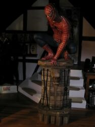 SPIDER-MAN 3  1:1 REPLICA PROP FULL-LIFE-SIZE FIGURE STATUE MUCKLE  OXMOX