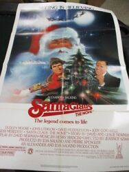 1 Sheet Movie Poster Santa Claus The Movie 1985 Dudley Moore John Lithgow Family