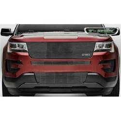 T-rex Polished Laser Billet Series Main Grille W/o Logo For Ford Explorer 2016