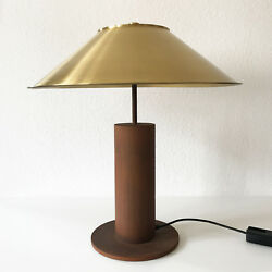 Xxl Gorgeous And Rare Luxury Mid Century Peter Preller Table Lamp For Tecta 1980s