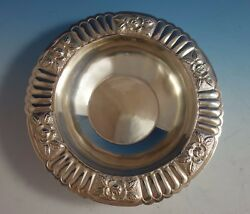 Aztec Rose By Maciel Mexican Mexico Sterling Silver Fruit Bowl 5838-6 1777
