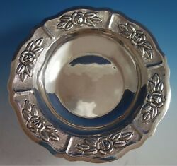 Aztec Rose By Maciel Mexican Mexico Sterling Silver Fruit Bowl 6522/5 1783