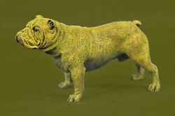 Art Deco Vienna Miniature French Bulldog Dog DB Sculpture Statue Bronze Deco BB