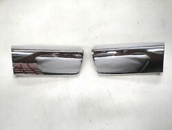 1951 51 Ford Car Chrome Outer Grill Bar Right And Left Side New