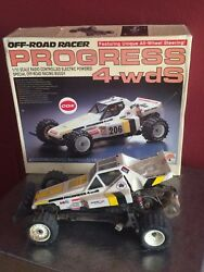 Vintage And Rare - Off Road Racer Progress 4 Wds- 110 Scale In Original Box