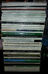 55 Years Of U.s. Open - Golf Program Collection 1963 To 2018