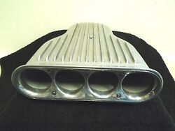 Vintage Cal Custom Air Cleaner Scoop Moon Eyes Aluminum *NICE*