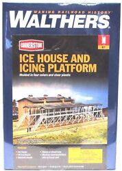 N Scale Walthers Cornerstone 933-3245 Ice House And Icing Platform Building Kit