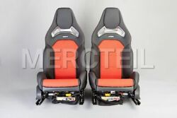 Mercedes-Benz Front AMG Performance Seats for C-Class W205 LHDRHD