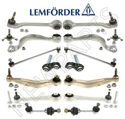 For Bmw E60 E61 Front And Rear Suspension Repair Kit Control Arms Guide Links Oem