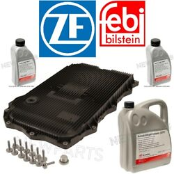 For Bmw 8hp Auto Trans Service Kit Oil Pan Andfilter Kit Gasket Plugs 7l Fluid Atf