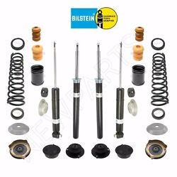 For Bmw E24 E28 Front And Rear Shocks And Strut Inserts W/ Mounts And Coils And Plates