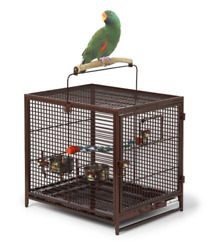 Travel Bird Cages For Parrots Perch Lodge Hotel Temporary Birdcage Collapsible